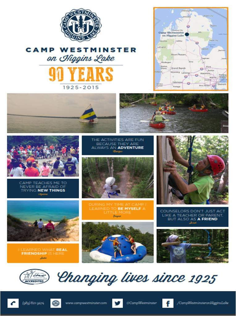 2015 Summer Camp Poster