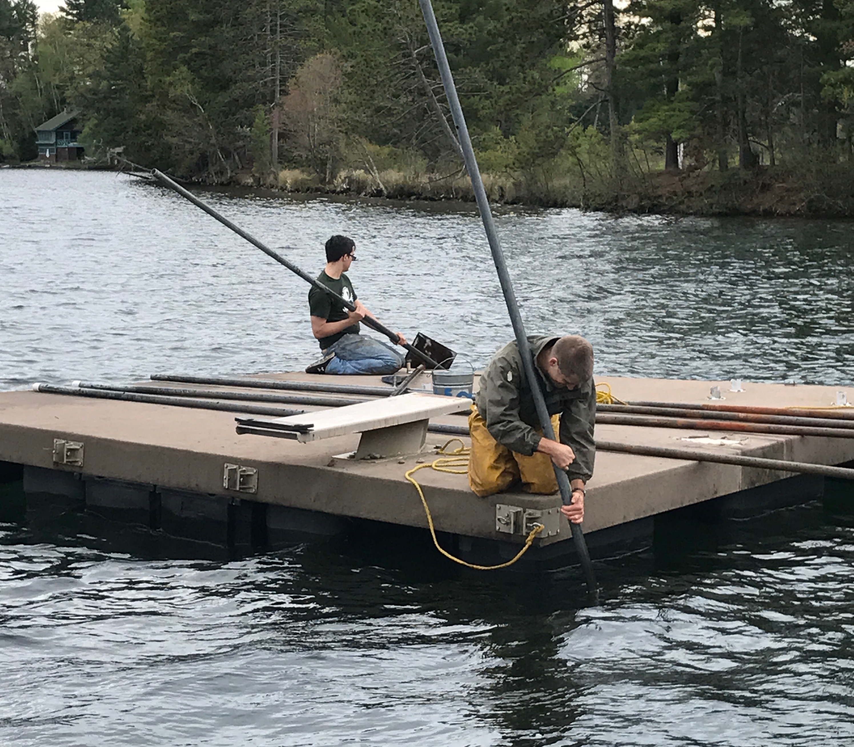 Putting in the Raft