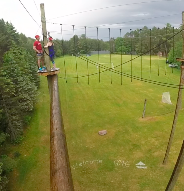 View from High Ropes Course