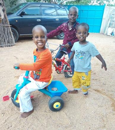 Hamza in Kenya