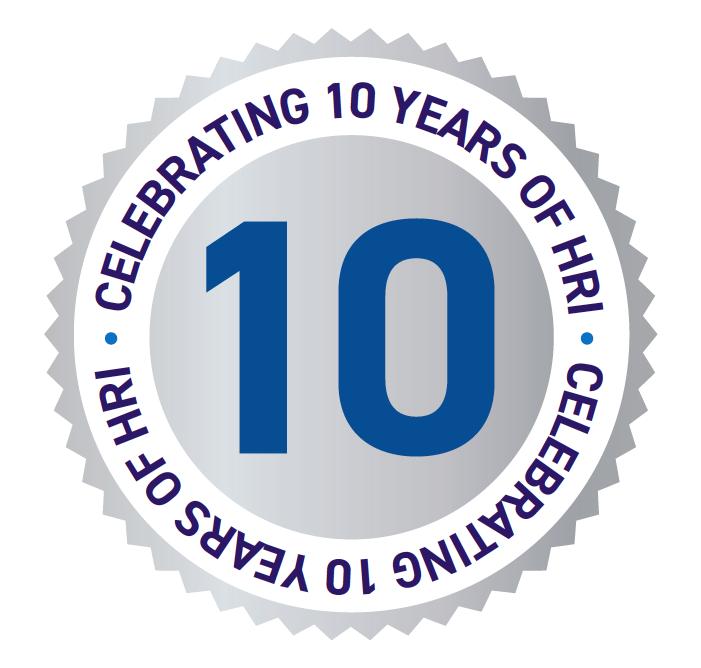 HRI 10 Years