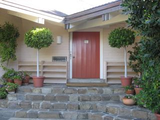 Door to Pine Cottage