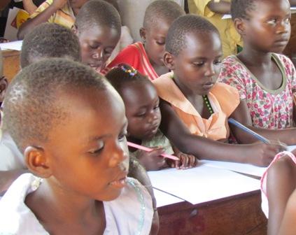 Abayudaya Elementary School class