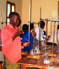Science lab at Semei Kakungulu High School