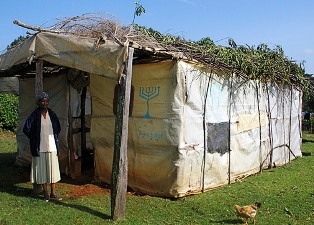 Synagogue in Kasuku, Kenya. Photo by Ari Witkin