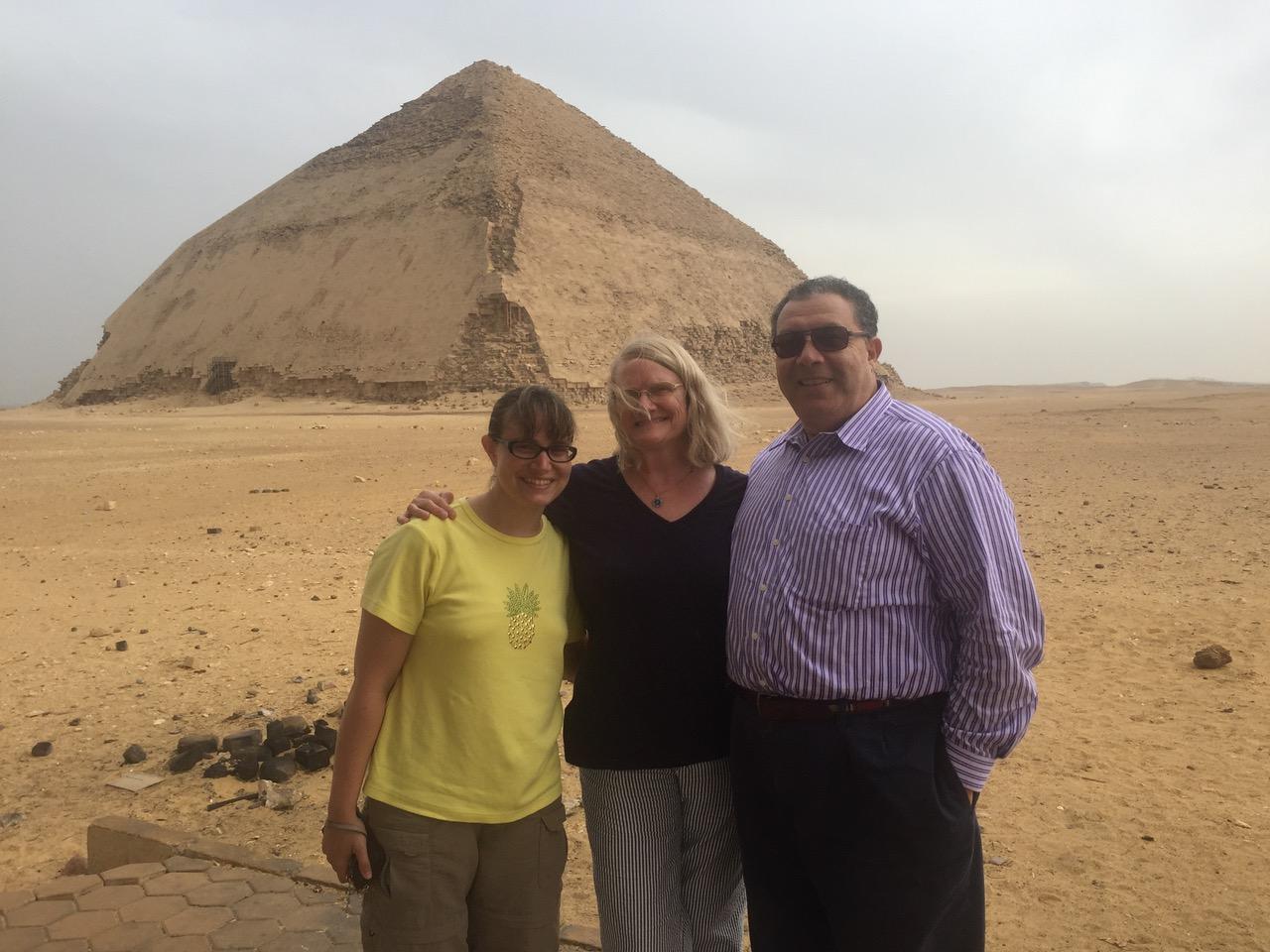 Karen, Nadia & Tharwat in Egypt