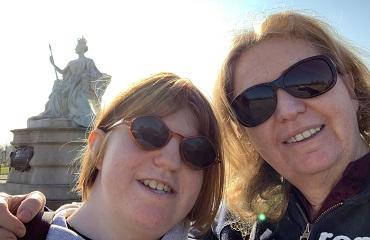 Debra Caldow and daughter, Betsy