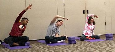 Main Street Yoga Class