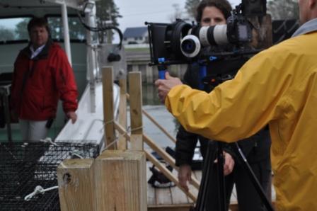 Filming Johnny Schockley