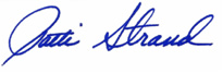 Patti Strand Signature