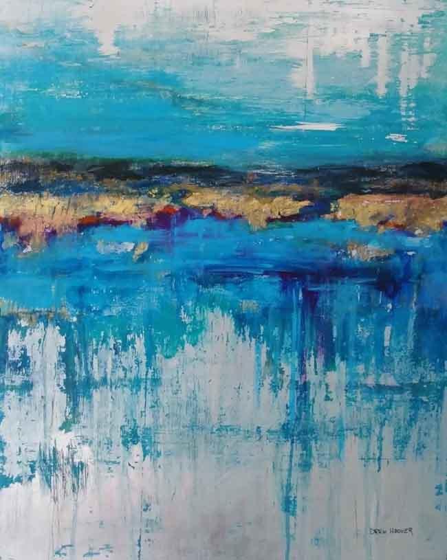 Drew Hoover Paintings Pocosin Arts