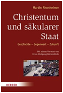 Christianity and the Secular State by Fr. Martin Rhonheimer