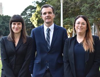 Pictured L-R: Camilla Pandolfini, Jonathon Hunyor, Michelle Cohen