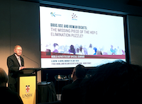 The Hon Michael Kirby delivery the keynote speech