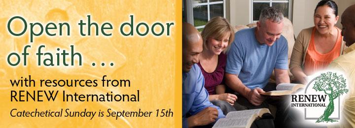 Open the door to faith