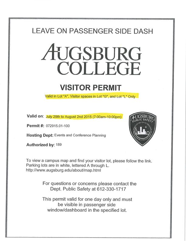 Augsburg Parking Pass