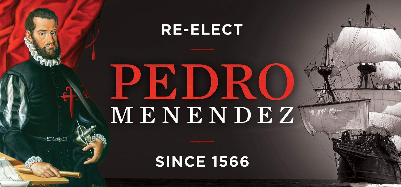 Re-Elect Pedro