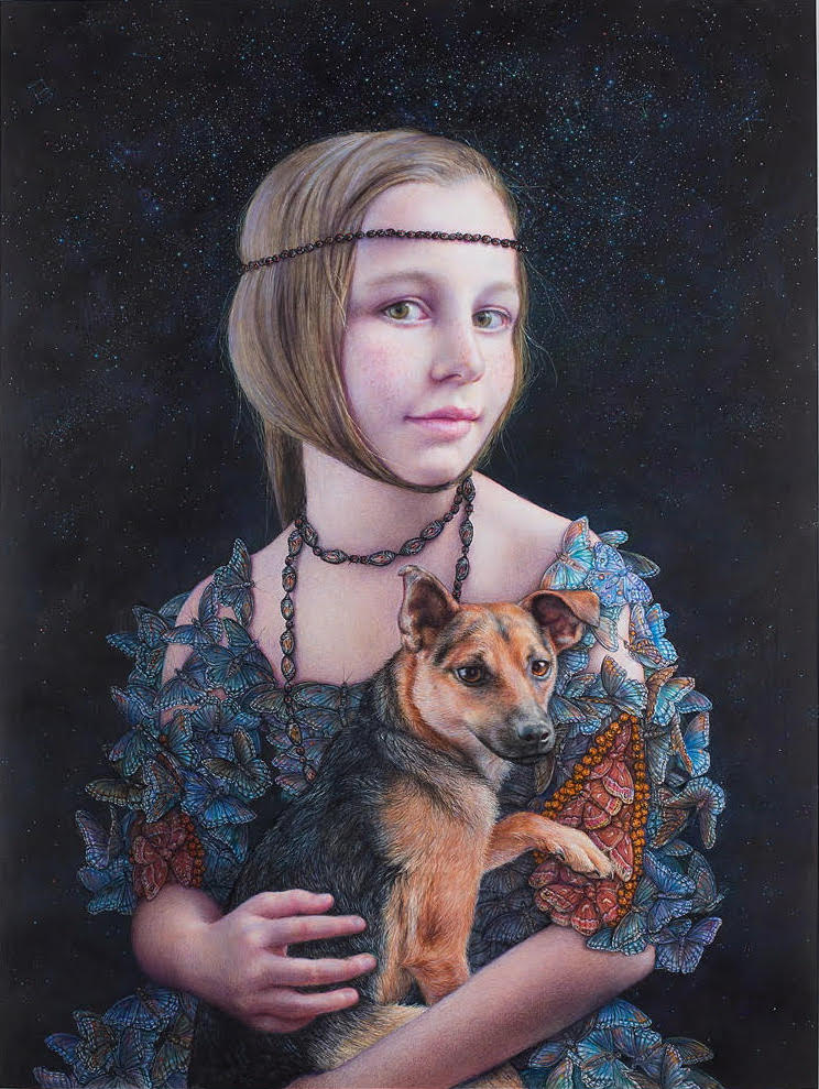 Villa's Universe by Margaret Munz-Losch, colored pencil, 2015. Courtesy of Megan Hurdle.