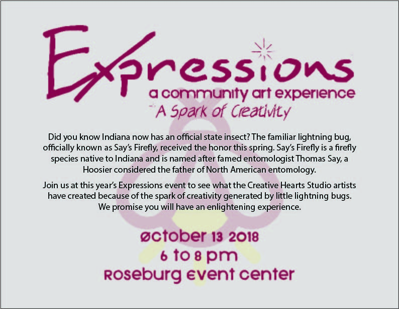 Expressions 2018 Save the Date