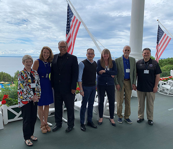 The Midwest Roundtable on Talent was June 13-15 at Mackinac Island, Michigan.