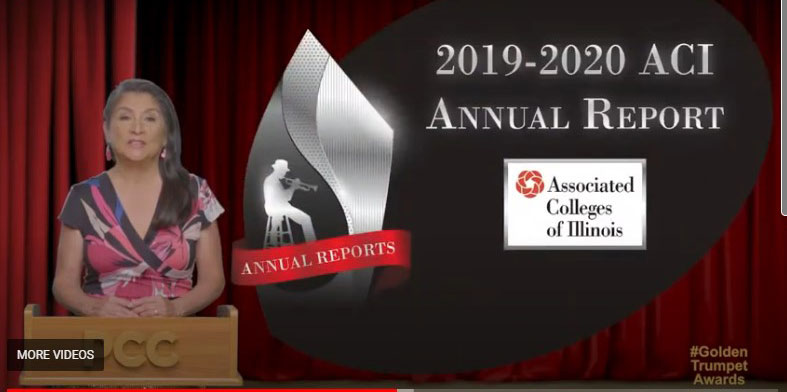 The PCC Silver Trumpet Award was  given to ACI's 2019-2020 Annual Report.