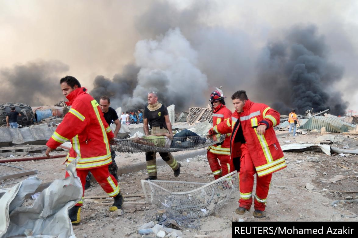 Beirut explosion: one year on