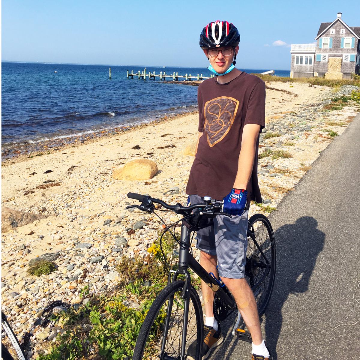 Tour de Shore rider Henry